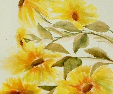 4-Judy Willis wc Sunflowers