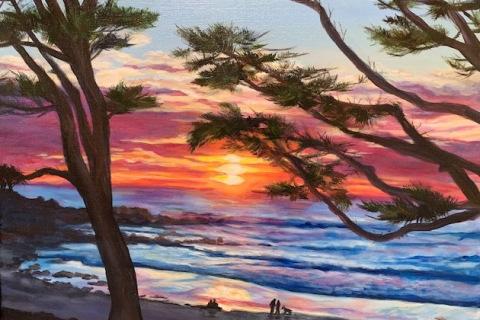 7-Julie-Foudy-Couples-on-Carmel-Beach-at-Sunset