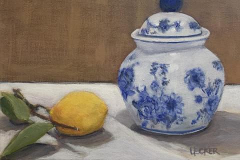 12-Sandra-Uecker-Meyeru2019s-Lemon-and-Blue-Ginger-Jar-Acrylic-10x8-giclee-print-available-min