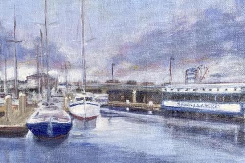 13-Sandra-Uecker-Monterey-Harbor-at-Sandbar-Grill-Acrylic-8-x-10-275-min