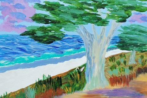 39-Jim-Wagoner-Carmel-Beach-Cypress-Acrylic-12x12-50-min