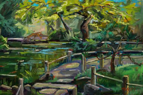 46-Marie-Massey-Tea-Garden-Green-Oil-13x21-800-min
