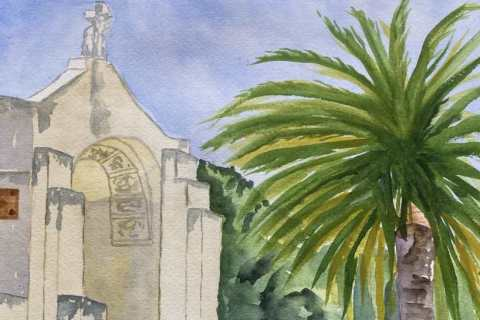 51-Laura-Lockett-Carmelite-Monastery-wc-20x16-matted-175-min