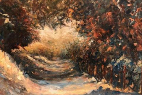 62-Dee-Steiner-Into-the-Woods-Oil-8x10-225-min