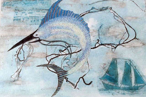 7-Helen-MacKinlay-Sea-Song-Collograph-Print-with-collage-9x12-250-min